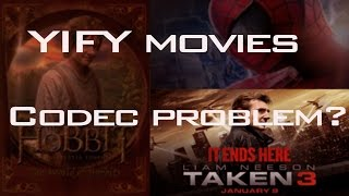 getlinkyoutube.com-Fix Yify Movies / Codec Pack Missing   New 2016   Easy  