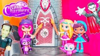 getlinkyoutube.com-LITTLE CHARMERS Nickelodeon Little Charmers Spooky Haunted House Hazel Little Charmers Video Parody