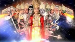 getlinkyoutube.com-Ramayan: Lord Ram's chaturbhuj roop is revealed to Ravan!