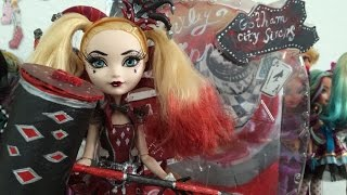 getlinkyoutube.com-Custom Harley Quinn EAH doll review