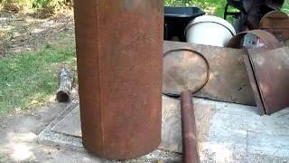 getlinkyoutube.com-Building a BBQ Smoker #1