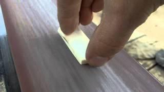getlinkyoutube.com-167 - Making a 10 Minute Bone Arrowhead with Modern Tools