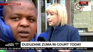 Duduzane Zuma fingerprinted ahead of his court appearence width=