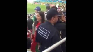 getlinkyoutube.com-الشرطة الجزائرية في مدرجات ملعب البرازيل لحماية الجمهور الجزائري