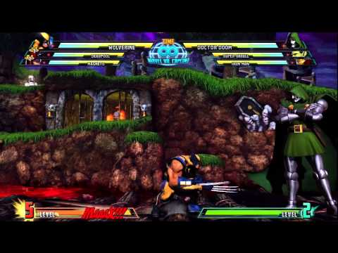 Marvel vs Capcom 3 - Wolverine Special