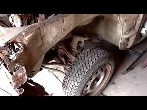 """Проект """"Прицеп"""" Ford Granada. Разборка авто. [Часть 2] Снимаем двигатель."""