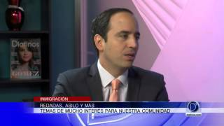 Redadas, asilo y más con el abogado Pablo Hurtado