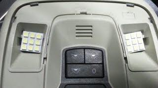 interior LED conversion Volvo C30 T5