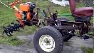 getlinkyoutube.com-Самодельный трактор (продолжение) подъёмный механизм