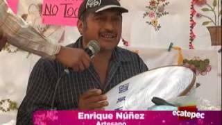 getlinkyoutube.com-Hombre vive del bordado en Ecatepec