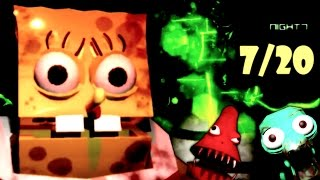 getlinkyoutube.com-Five Nights at The Chum Bucket | 7/20 MODE COMPLETE!