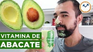 🍴 RECEITA FIT: VITAMINA DE ABACATE FITNESS (para beber ou comer) | Saúde na Rotina