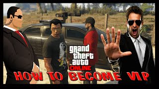 getlinkyoutube.com-GTA 5 How to become VIP and Hire Bodyguards Online