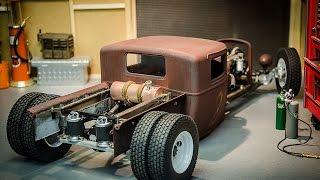 getlinkyoutube.com-Custom RC Rat Rod Build #2, Fabbing up a Custom Copper Fuel Tank