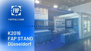 FAP Exhibition presence - Next one in Düsseldorf / K 2016 / stand 16C65