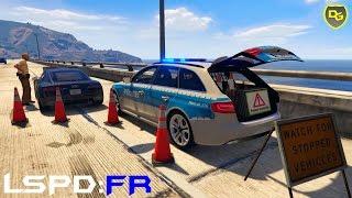 getlinkyoutube.com-GTA 5 LSPD:FR #062 - Achtung Kontrolle! - Deutsch - Grand Theft Auto 5 LSPDFR