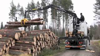 KESLA 2111ZT timber truck loader