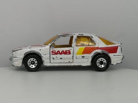 Matchbox 1987 SAAB 9000 Turbo Custom Video