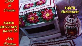 getlinkyoutube.com-JOGO DE COZINHA -  Capa de botijão part.02/Cover cylinder/Cubierta del cilindro - ARTS CRISTINA