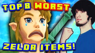 getlinkyoutube.com-Top 8 WORST Zelda Items! - PBG (Ft. MatPat)