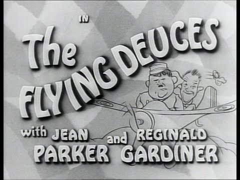 Laurel and Hardy in 'The Flying Deuces' (1939) [STONEVISION]