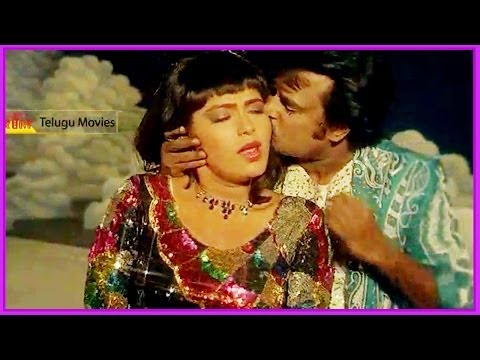Edo Kadilinadi - Rajinikanth & Rupini Lovely Song - In Prabhanjanam Telugu Movie