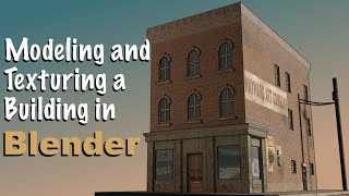 getlinkyoutube.com-Modeling and Texturing a Building in Blender