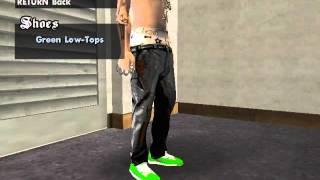 getlinkyoutube.com-GTA San Andreas: Obey Cap, Vans Shoe, Vans Paintjob