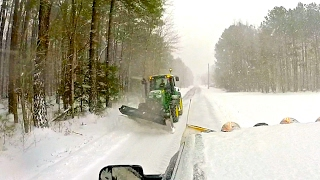 Snow Plowing Jan 2017 - 8-10""