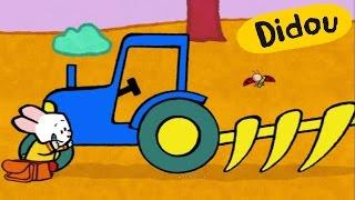 getlinkyoutube.com-Tracteur - Didou dessine-moi un tracteur | Dessins animés pour les enfants