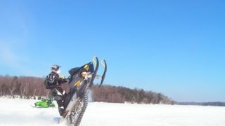 getlinkyoutube.com-Snowmobiling the HIGHLIFE!...No Music...(other than what pours from our sleds' pipes)