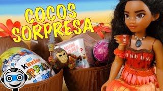 Vaiana - Moana abre Cocos con Sorpresas
