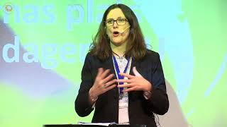 EFNS 2018 - Cecilia Malmström, EU-kommissionär