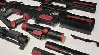 getlinkyoutube.com-[TUTORIAL] How to Paint a Nerf Gun