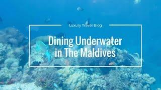 Podvodni restoran na Maldivima :)