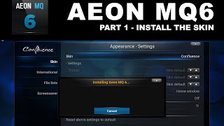 getlinkyoutube.com-Aeon MQ6 Part 1 Install Skin