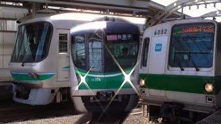getlinkyoutube.com-東京メトロ16000系、06系、6000系@小田急小田原線 経堂駅