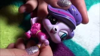 getlinkyoutube.com-Littlest Pet Shop love in Paris pet pair OPENING and REVIEW brand new lps