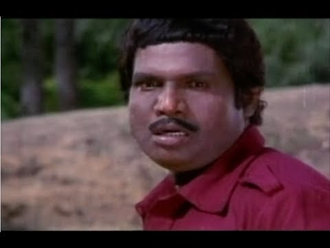 Alai Osai Movie Scenes - Vijayakanth & Goundamani fighting Radha Ravi & his men - Nalini