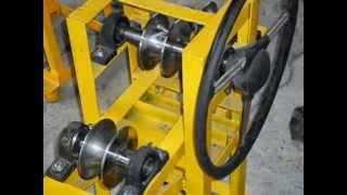 getlinkyoutube.com-curvadora de tubos casera