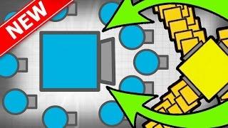 getlinkyoutube.com-BOSS SUPER EPIC MEGA CRAZY TANK!   Diep.io Huge Update New Tank!   New MASTER Bots Tank