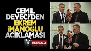 Cemil Deveci'den Ekrem İmamoğlu açıklaması
