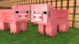 getlinkyoutube.com-Minecraft: OS PORQUINHOS SÃO SAFADOS! - Block Hunt