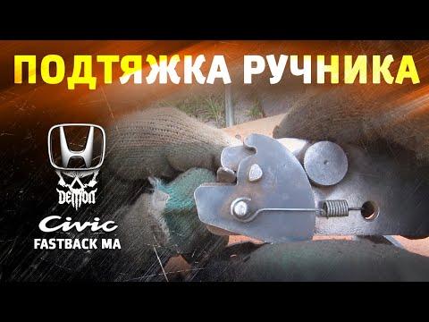 Где находится в Honda ШРВ педаль тормоза