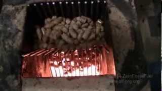 getlinkyoutube.com-#354 Rocket stove heater wood pellet mod!!!