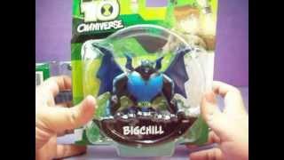 getlinkyoutube.com-BEN 10 OMNIVERSE Toys ( Bigchill Diamondhead Zombozo Water Hazard Pax Snare-Oh Astrodactyl )