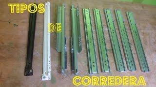 getlinkyoutube.com-TIPOS De CORREDERAS TELESCOPICAS  (Clasicas - Minis - Cierre suave - Push Open)  - Luis Lovon