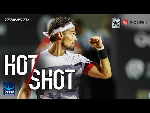 Fognini Drops Racquet and Still Wins Set Point in Rio