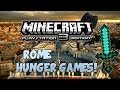 "Minecraft Playstation 3 - ""Hunger Games Rome"" Map!"