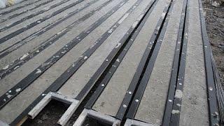 getlinkyoutube.com-Как сделать бетонные  столбики .для винограда и забора.